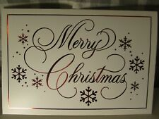 Hallmark Merry Christmas Holiday Boxed Cards, 16 Cards & Env, Red, White