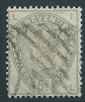 Great Britain 1884, Scott #104, 5p. green, used, very fine