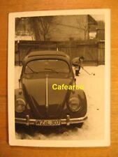 ~1950 altes Foto VW Käfer Brezel / Auto Oldtimer
