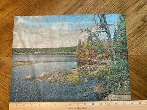 VINTAGE JK STRAUS WOOD PUZZLE FAO SCHWARZ - ANOTHER WORLD - 300 PIECES 1 MISSING
