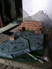 custom diorama broken street marvel legends mezco