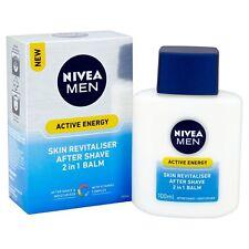 Nivea Men Active Energy Skin Revitaliser After Shave 2 in 1 Balm Facial/Face/NEW