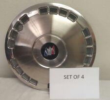 SET OF 4 -- NEW GENUINE GM BUICK LESABRE PARK ELECTRA HUB CENTER CAP 86 - 91