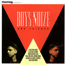 BOYS NOISE MIXMAG CD  Jack TIGA U MR OIZO SPANK ROCK SCNTST EROL ALKAN PEACHES