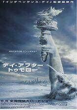 The Day After Tomorrow - Original Japanese Chirashi Mini Poster style B