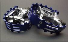 "BearTrap CAGED OLD SKOOL BMX Racing Platform Pedals,  BLUE 9/16"""