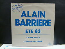 "MAXI 12"" ALAIN BARRIERE Ete 83 Lla mer est la .. CELTINA CEL 10128"