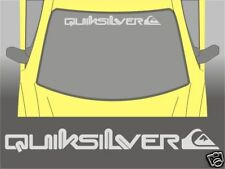 Quiksilver Sunstrip Sun Strip Lettering Decal Peugeot