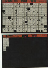 YAMAHA XTZ 750 _ Service Manual _ Microfich _ microfilm _'89