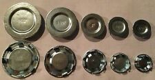 """(100 pc lot) Steel Knockout KO Seal Hole Covers 1/2"""" - New in Box"""