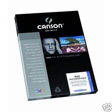 PAPER COTTON ARTI INKJET CANSON 25 SHEETS A3 310 GRAMS