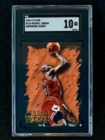 1996-97 Fleer Michael Jordan #123 Hardwood Leader SGC 10 Pop 4