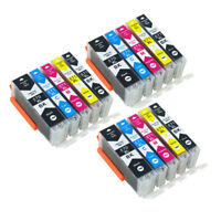 15x Ink Cartridge PGI 570 CLI571 Compatible For Canon PIXMA MG5750 MG5751 MG5752