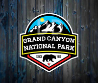 GRAND CANYON NATIONAL PARK ARIZONA DECAL STICKER 3""