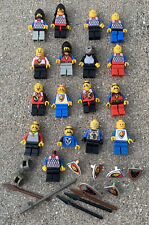 Vintage Authentic Lego Castle Minifigure Lot - Knights Shields Weapons Spears ++