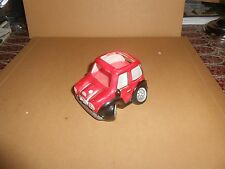 Red MINI Ceramic Car with Candle