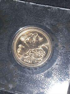 1/2 Gold Sovereign 2021