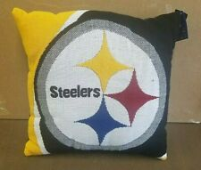 """Pittsburgh Steelers 20"""" x 20"""" Plush Knit Pillow by Northwest"""