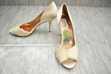 Badgley Mischka Pearson Dress Heels - Women's Size 10M, Vanilla