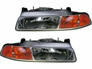 For 1996-2000 Plymouth Breeze Headlight Assembly Set 61717GB 1997 1998 1999