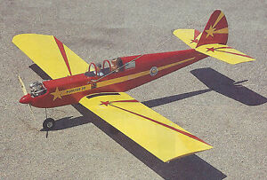 Funster 20 Sport Airplane Plans, Templates and Instructions 60ws