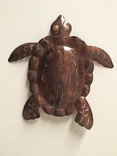 METAL WALL HANGING TURTLE