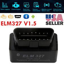 ELM327 V1.5 PIC18F25K80 Bluetooth Code Reader J1850 12V OBDII Scanner Tool