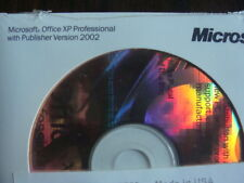 Microsoft Office XP Professional W/Publisher Version 2002 - New - Free Shipping