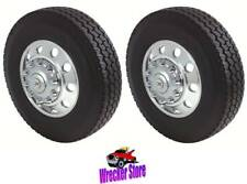 FRONT SET, '05 TO Current FORD F450 F550 19.5 10 Lug, HUB COVER, WHEEL LINER