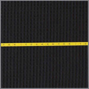 Waffelpiqué Waffelstoff schwarz Waffel Pique ab 0,5m 8,90€/ Meterware