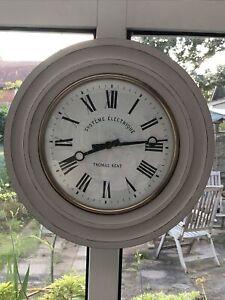 Stunning Vintage Style Thomas Kent 40 cm Wall Clock, John Lewis