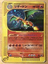 Charizard Pokemon Holo 2001 Expedition E Series 1st Edition Japanese 103/128 DMG
