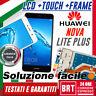 DISPLAY LCD+TOUCH SCREEN+FRAME PER HUAWEI Y7 2017 TRT-LX1 LX3 NOVA LITE PLUS 24H