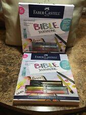 """Lot 2""Faber Castell Creative Studio BIBLE JOURNALING Craft Kit - FREE SHIPPING"