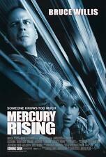 MERCURY RISING Movie POSTER 27x40 D Bruce Willis Alec Baldwin Miko Hughes Kim
