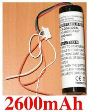 Batterie 2600mAh type 361-00022-00 IA3AB07B1A97 Pour Garmin StreetPilot C510