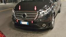 Mercedes Vito W447 TAXI 2014 Onwards Chrome Front Outer Grille 2 Cover S.Steel