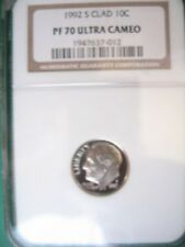 1993-S SILVER 10C NGC PROOF-70 ULTRA CAMEO
