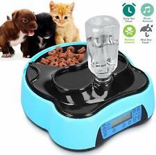 Automatisch Futterautomat Futterspender Pet Feeder für Katze Hund mit LCD Timer
