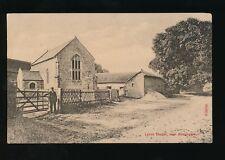 Somerset BOSSINGTON Lynch Chapel pre1919 PPC