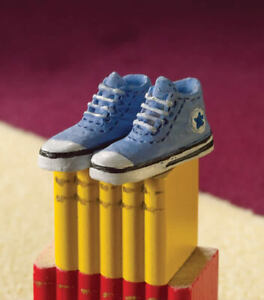 Dolls House Emporium Miniature 1/12th Scale Blue Resin Baseball Boots/Shoes 4019