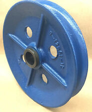"Wire rope Sheave/Pulley 5/8"" Rope, 14"" OD, 1-7/8"" Plain  Bore, Cast Iron"