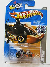 HOT WHEELS 2012 HW CODE CARS GO KART FACTORY SEALED