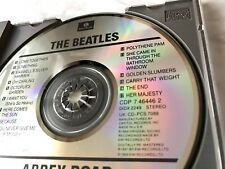 The Beatles Abbey Road CD Parlophone DADC PRESS CDP 7 464462 RARE Paul McCartney