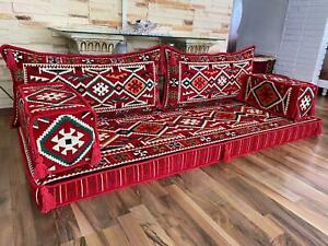 Orientalische Sitzecke-Sark Kösesi-5 Tlg.MIT FÜLLUNG Neu