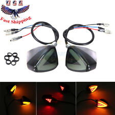 1Pair For Universal Motorcycle Amber LED Turn Signal Indicator Blinker Light 12V