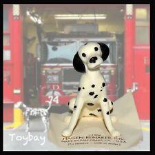 Vintage Hagen Renaker Porcelain Miniature Dog Dalmatian Figurine ~ Firehouse Dog