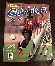 ALBUM PANINI CALCIATORI 1995/96 COMPLETO - 79 BELLISSIMO! !!