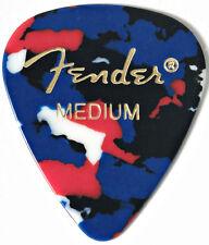 Fender 351 Classic Celluloid Medium Plectrum (Confetti)