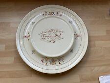 More details for antique victorian tongue plate/dish1890s devon ware fieldings meat platter 10